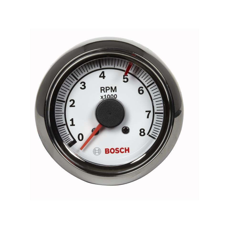 "2-⅝"" auto tachometer with chrome bezel 
